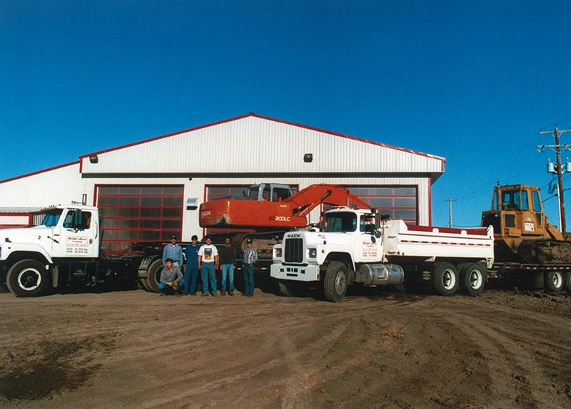 Wild Rose Excavation Fleet 1996